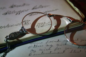 Glasses and Paperwork